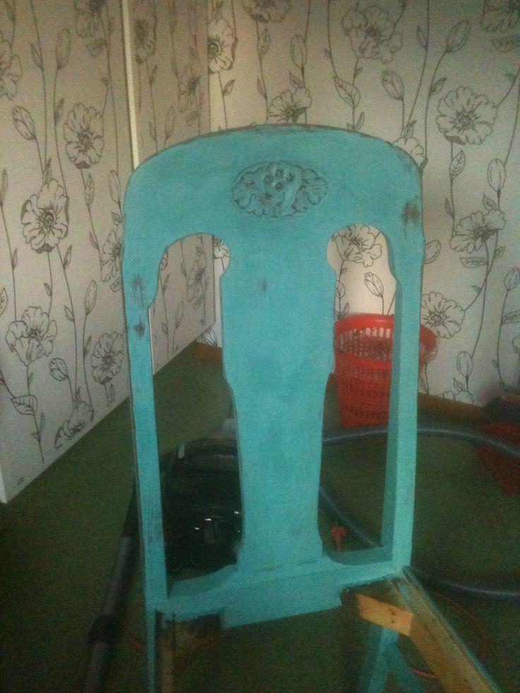 Gammal stol blev som...ännu äldre
