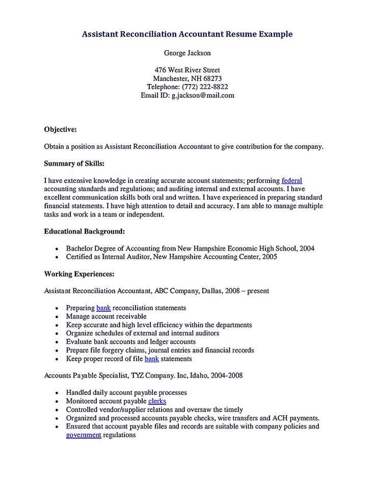 resume for accounting assistant whether or not accounting