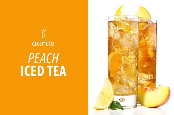Aurile Harmony Peach Iced Tea