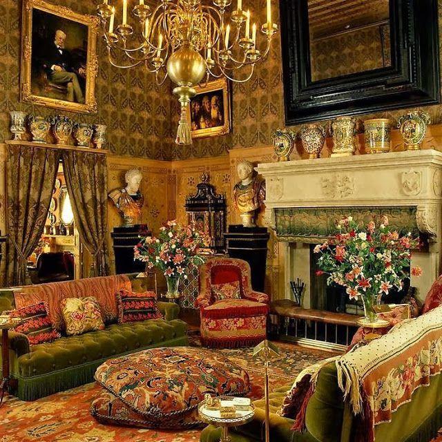 Restored Victorian Interior | Found on eyefordesignlfd.blogspot.com