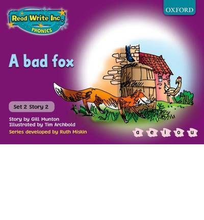 A bad fox: Gill Munton, Ruth Miskin and Tim Archbold