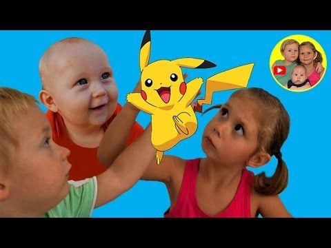 Пикачу из Покемон Го для Беби Бона ❤️ Baby born doll Детский канал Самок...