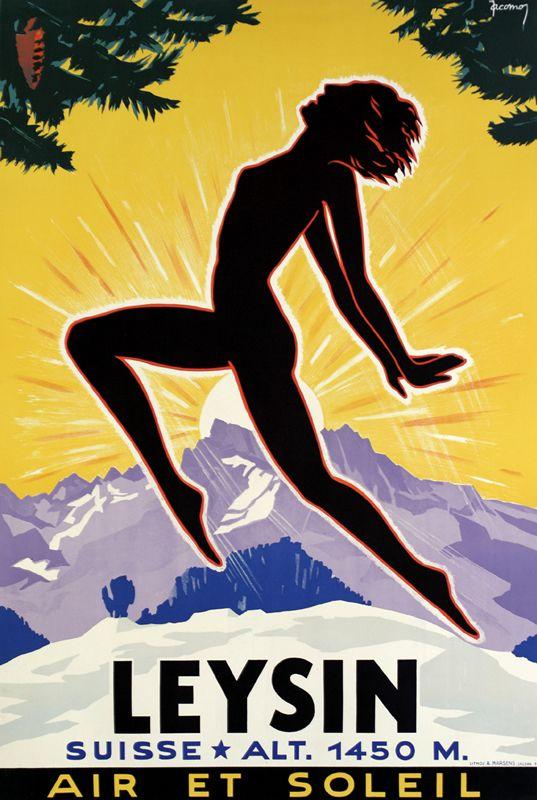 Jacomo Poster: Leysin