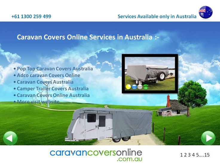 Here is available all type of caravan Cover online all Australia and Its all Cities .