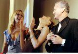 Gianni Versace - Ready To Wear - Spring Summer 1997 - Istanbul, Turkey. - 1997, May 6. - Eva Herzigova - Valeria Mazza - Carla Bruni - Santo Versace - Special Versace Fashion Show - SIPA PRESS