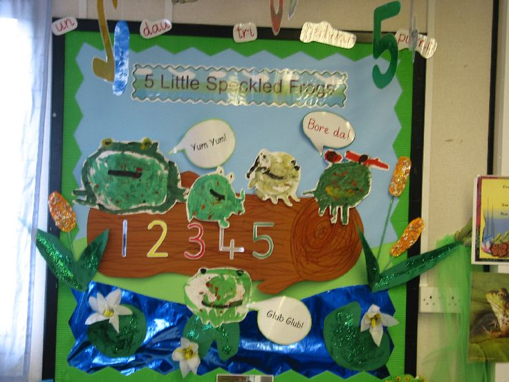 Five Little Speckled Frogs classroom display photo - Photo gallery - SparkleBox