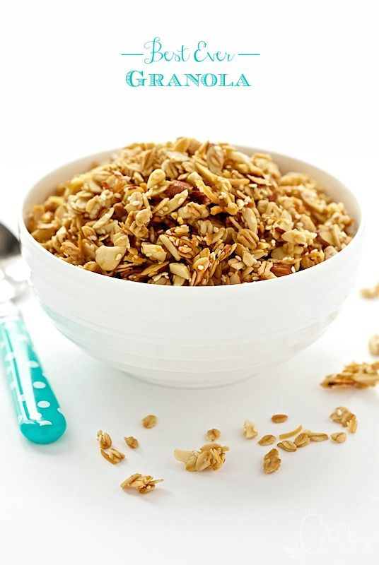 Best Ever Granola - the most addictively delicious granola you'll ever have the pleasure of meeting!