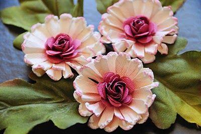 most gorgeous paper flowers + tutes