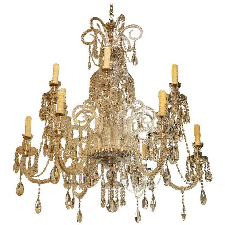 french 19th century regency chandelier 1