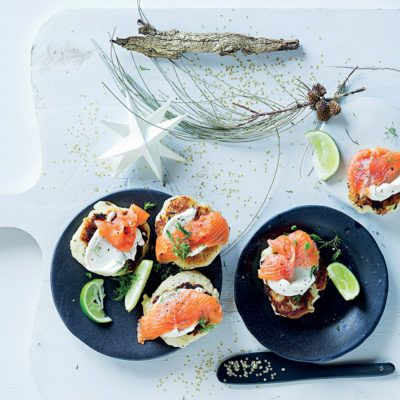 Taste Mag | Trout blinis @ https://taste.co.za/recipes/trout-blinis/