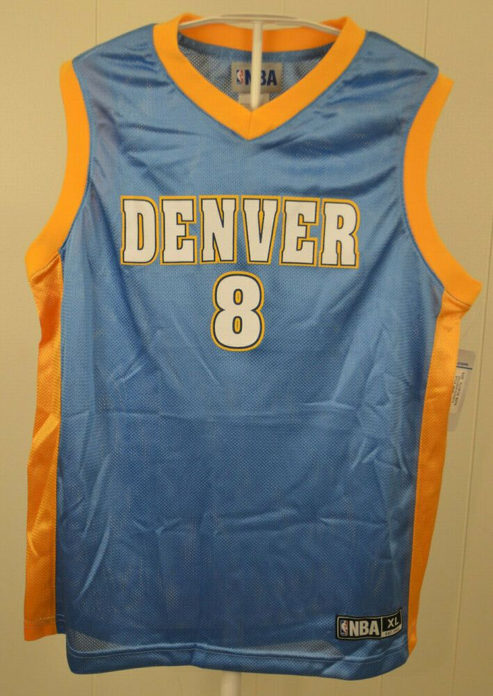 watch 64d62 201eb New Denver Nuggets Jersey #8 Danilo Gallinari NBA Kid Youth ...
