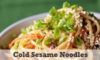 Cold Sesame Noodles. Sounds do-able.