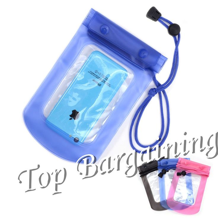 1 x Waterproof Underwater Case Cover Bag Pouch Holder For Mobile Phone Camera | eBay