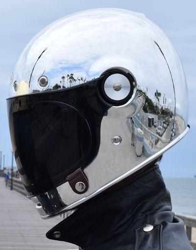 Tankfarm x Bell Helmet Silver Bullitt - Pre Order ONLY