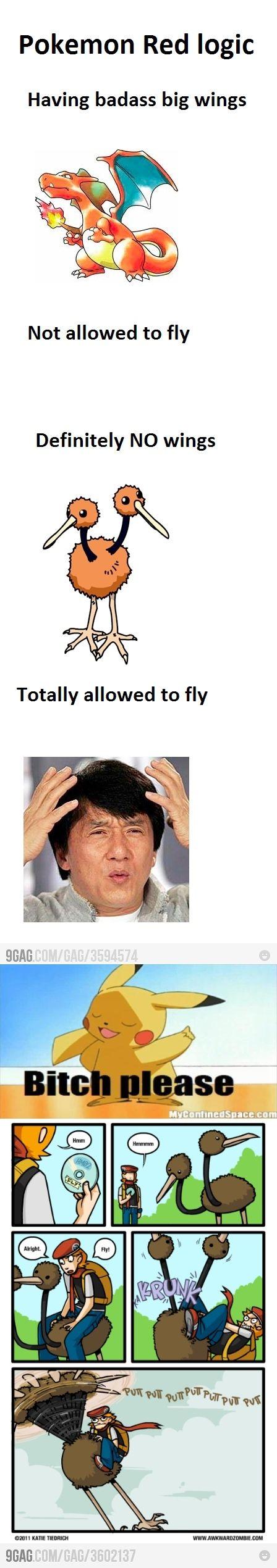 B*tch Please, pokemon logic