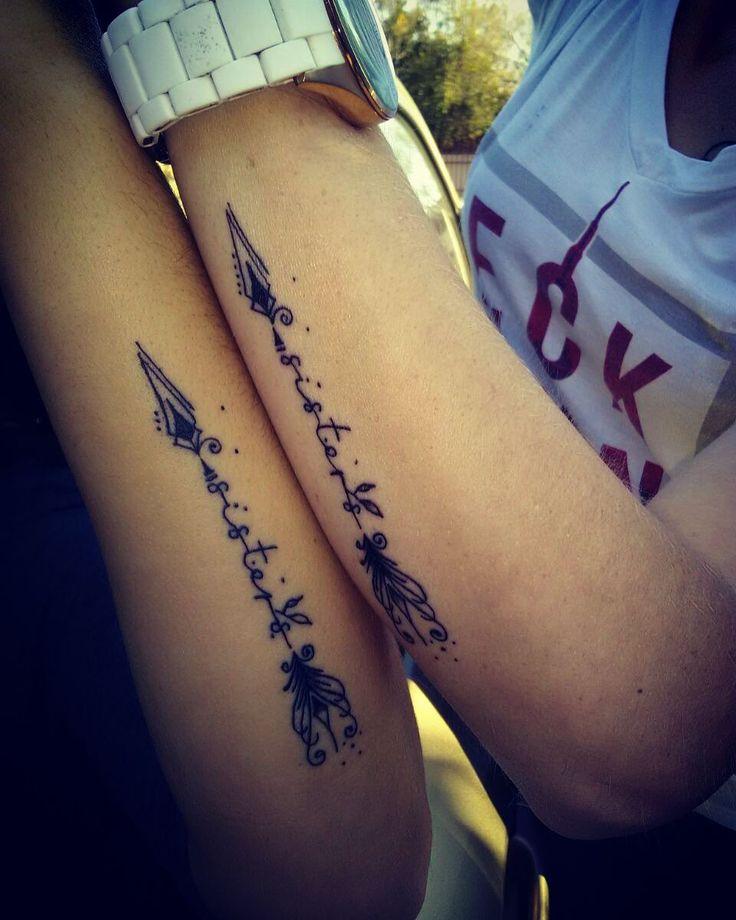 Sisters matching tattoo
