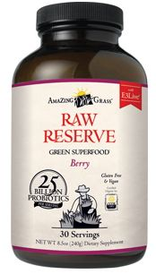 Amazing Grass Raw Reserve Green SuperFood - Berry $53.99 - from Well.ca