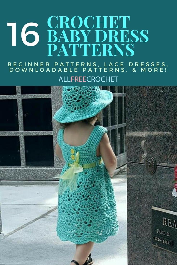 Crochet Baby Dresses Free Patterns Pinterest | Lixnet AG