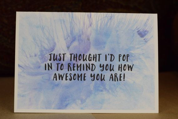 Greeting card, handmade card, thoughtfulness card, care card, friendship card, just because card, inspiration, words, cards, depression, mental wellbeing, mental health
