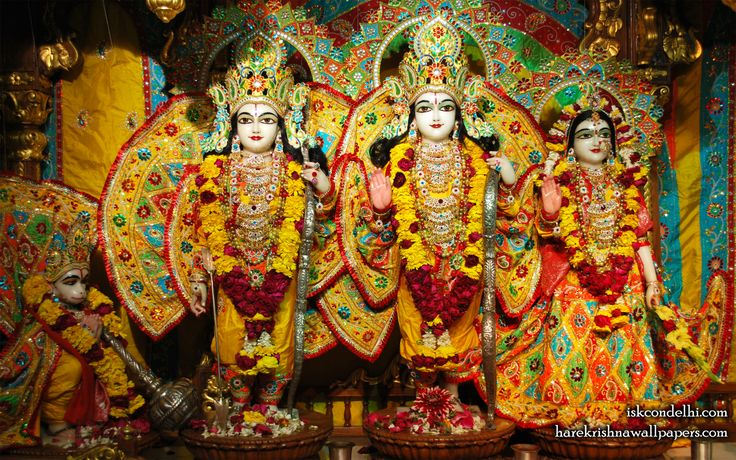 To view Sita Rama Laxman Hanuman Wallpaper of ISKCON Dellhi in difference sizes visit - http://harekrishnawallpapers.com/sri-sri-sita-rama-laxman-hanuman-iskcon-delhi-wallpaper-006/