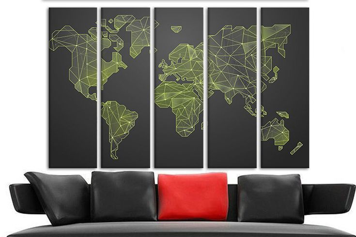 Personalized canvas Travel detailed world map Extra large canvas art Framed map of the world Maps for walls Map canvas art World maps art http://etsy.me/2toBVuI #art #print #giclee #birthday #mothersday #personalizedcanvas #traveldetailed #detailedworldmap #travelworld