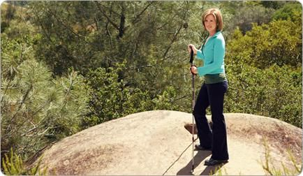 """Ten years ago, Lorrie joined a gym to lose weight. When she didn't see results, she gathered a few friends and started hiking. """"It was only when my focus shifted from the size of my butt to the scenery around me that the weight began to melt away,"""" she says. """"It was enjoyable, and I finally lost those extra 35 pounds I'd been carrying around!"""" Shape.com"""