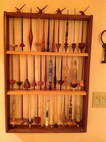 Inspiration for spindle storage