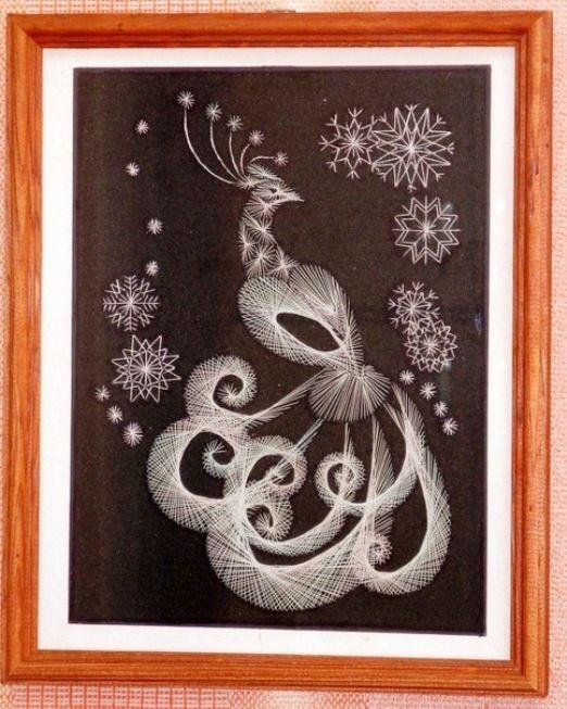 216 best Crafts  String Art images on Pinterest  Spikes