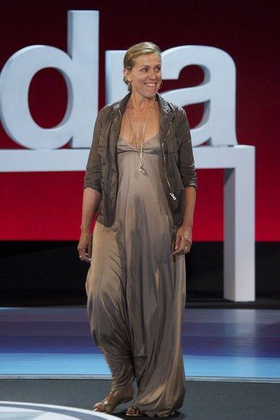 "Actress Frances McDormand attends ""Intruders"" premiere at the Kursaal Palace during the 59th San Sebastian International Film Festival on September 16, 2011 in San Sebastian, Spain."