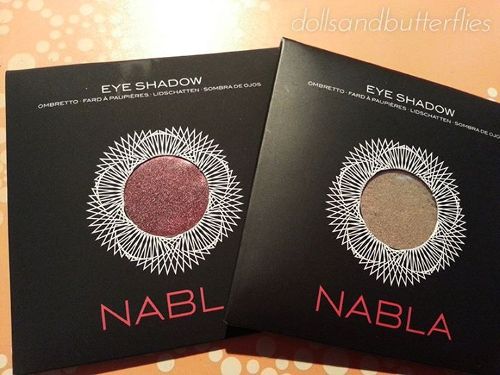 Nabla Eyeshadow in Daphne 2 & Madreperla https://www.facebook.com/dollsnbutterflies