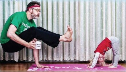 father's day yoga