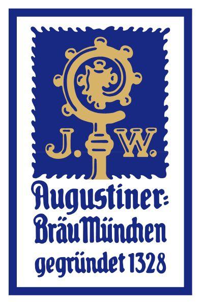 Augustiner beer logo | Location: Munich, Bavaria, Germany