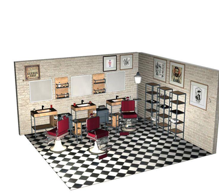barber shop ideas barber shop design modern barber shop - Barbershop Design Ideas