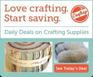 Craftsy - yarn & fabric deals.Craftsy Httpbitlyhinswl, Crafts Ideas, Free Online, Crafts Class, Crafts Daily, Craftsy Crafts, Craftsy Httpbitlyhkksak, Online Crafts, Daily Deals