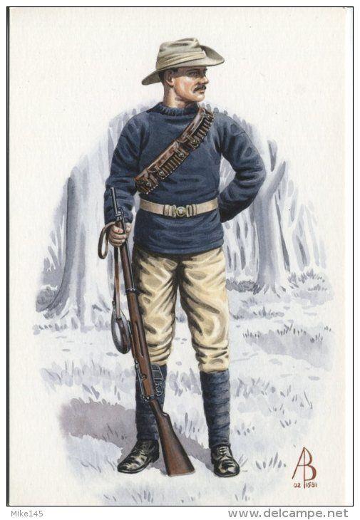 Mounted Infantryman from Duke Of Wellington's Regiment, Matabeleland 1896
