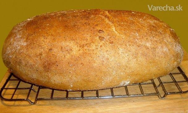 Zemiakový chlieb so starým cestom (fotorecept) - Recept