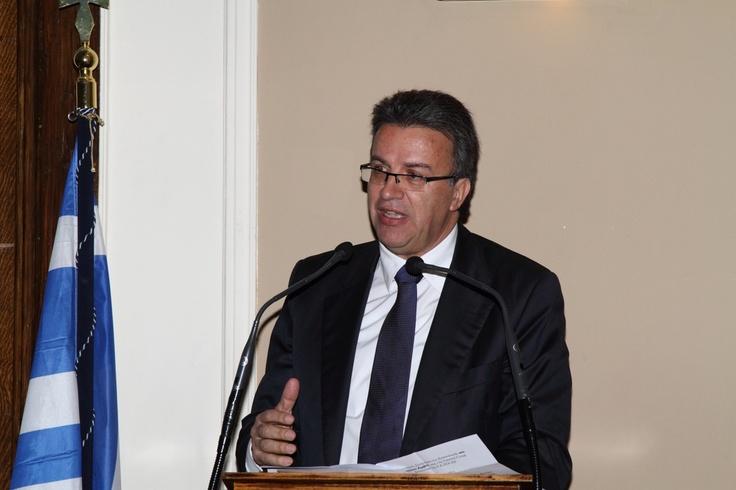 Χαιρετισμός Συνηγόρου του Καταναλωτή, κου Ευάγγελου Ζερβέα, στη 13η Τακτική Γενική Συνέλευση της Ε.Κ.ΠΟΙ.ΖΩ. (5.4.2013)