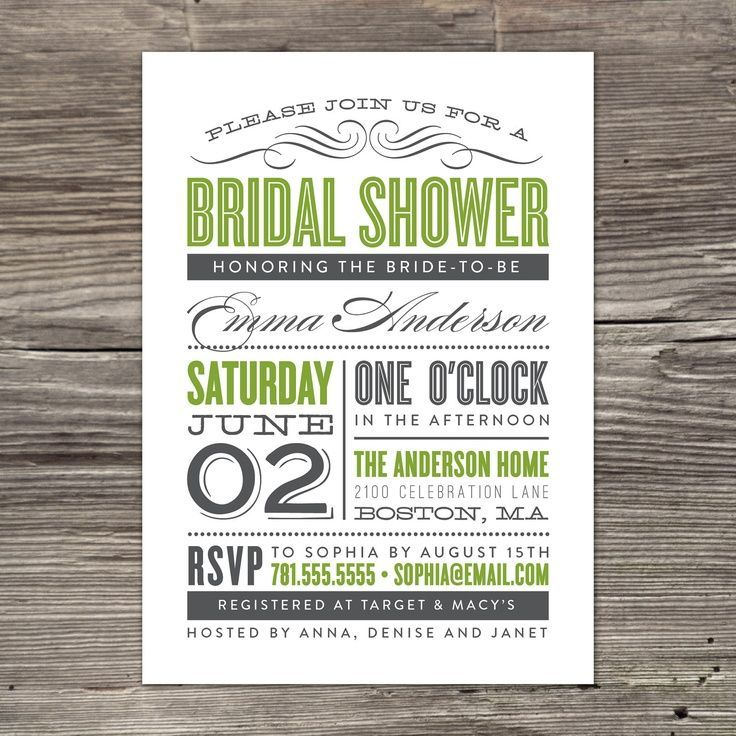 The 25+ best Free bridal shower invitations ideas on Pinterest - free engagement invitations