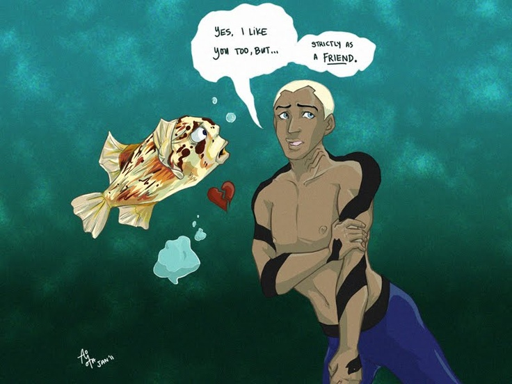 I found this while looking up Young Justice pictures. I thought it was funny. (Aqualad being Awkwardlad)
