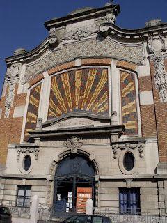 Lille, l'art nouveau et l'art déco: Lille Fives, Rue de Lannoy