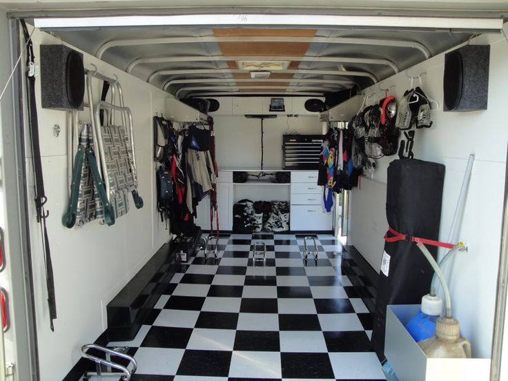 Enclosed Race Trailer Race Trailer Motorcycle Trailer