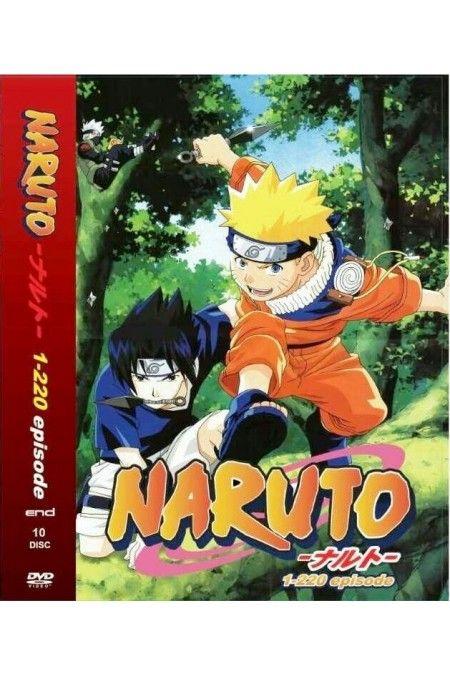Naruto Episode 1-220 Complete Box Set Anime DVD English Dubbed
