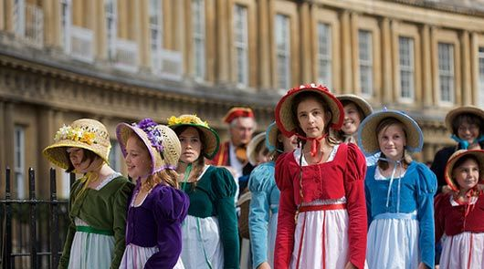 Jane Austen Walking Tour of Bath Film Locations | Brit Movie Tours