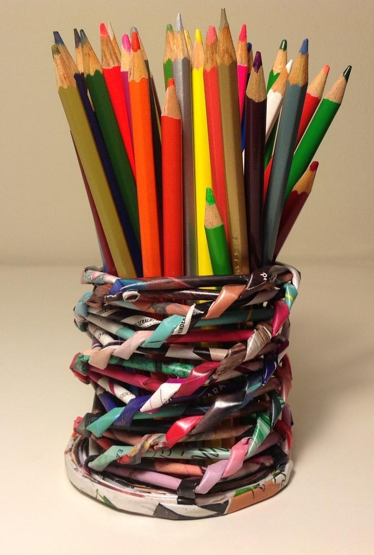 74 best decoraciones y objetos hechos con papel de - Decoraciones de papel ...