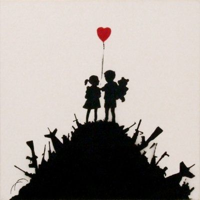 War, Capitalism and Liberty – a preview of Banksy's new show including rare artwork