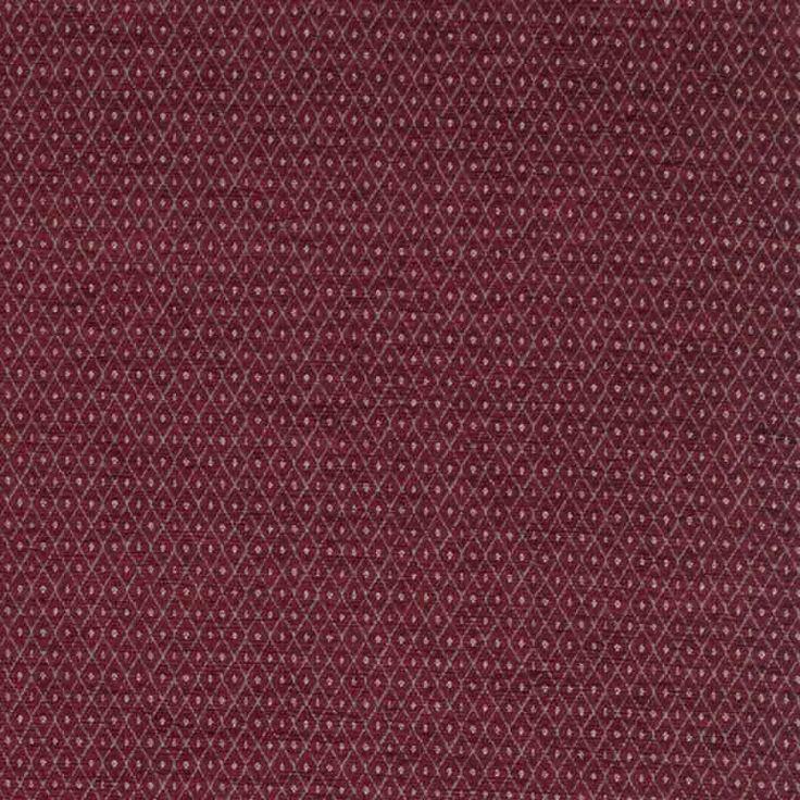 Warwick Fabrics : BARON, Colour SCARLET