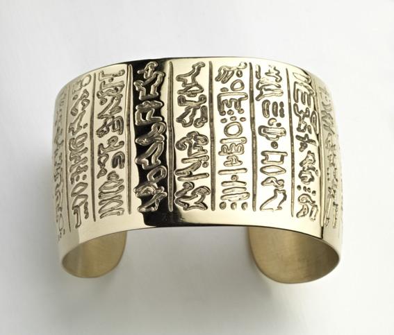 egyptian cuff bracelet tattoo - photo #1
