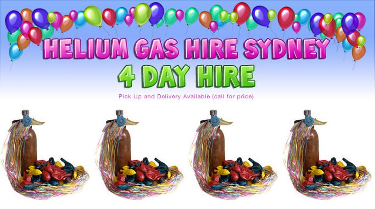 Party Supplies Sydney Australia Helium has hire Sydney Best prices and in stock to order now Call for the prices.