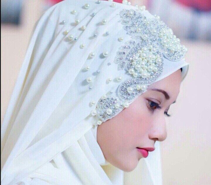 Bridal hijab@mimilomasignature