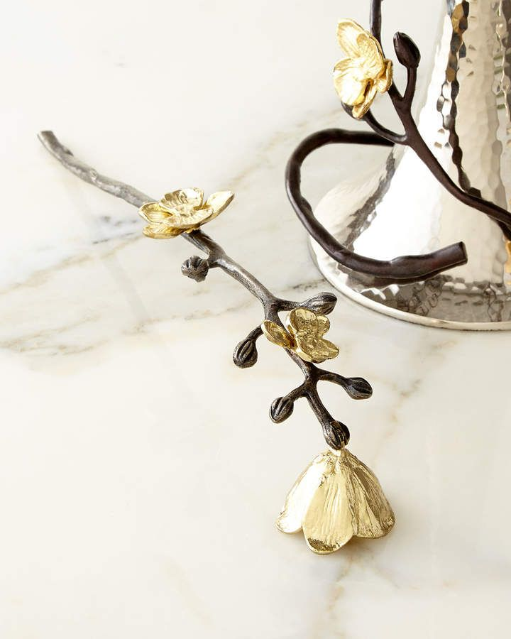 Michael Aram Gold Orchid Candle Snuffer With Images Gold Orchid Candle Snuffer Michael Aram